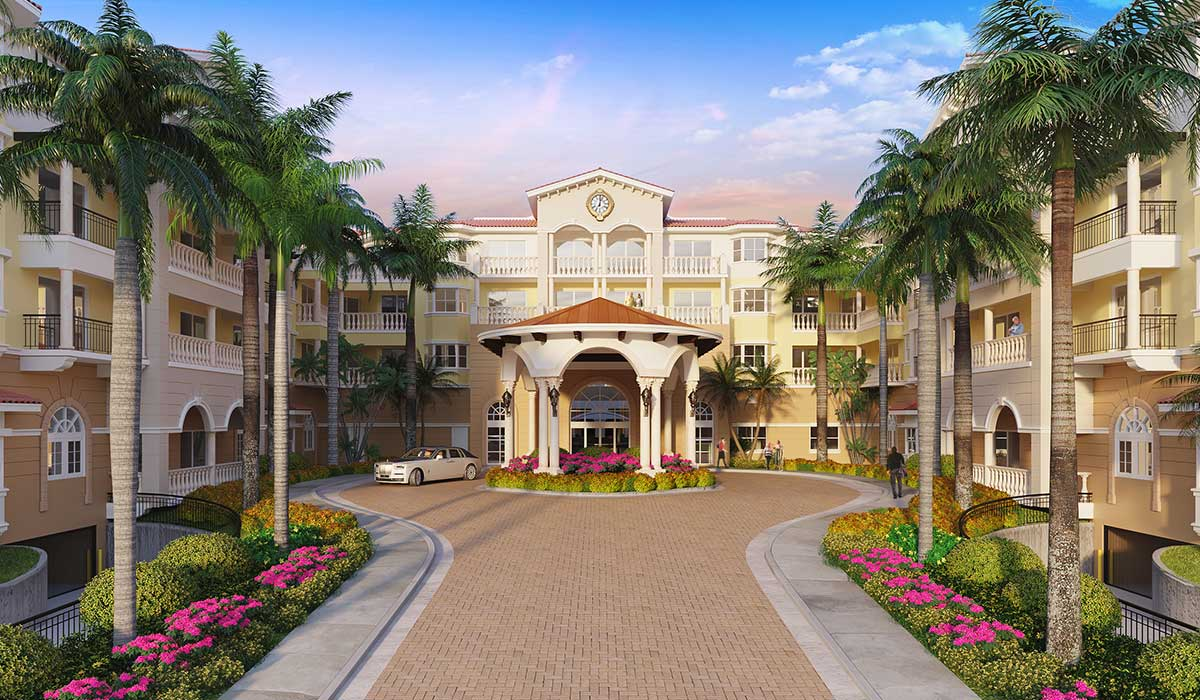 The New Palace at Weston Assisted Living in Browad county, FL